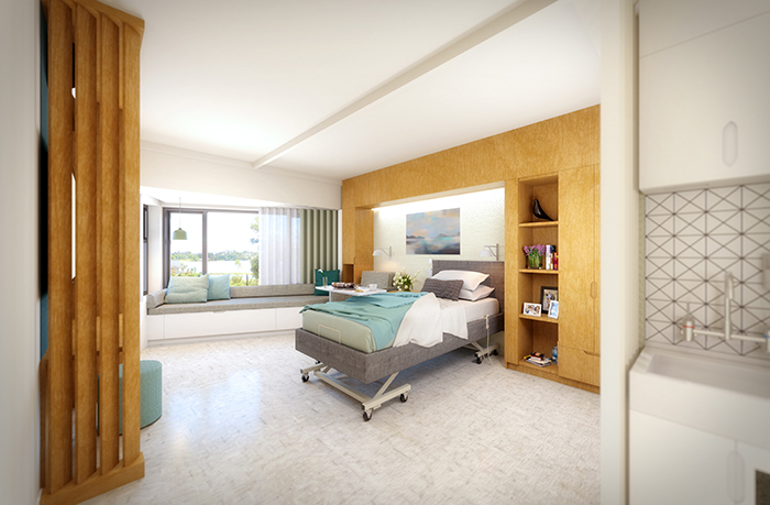 Klein Hospice North Shore Patient Room