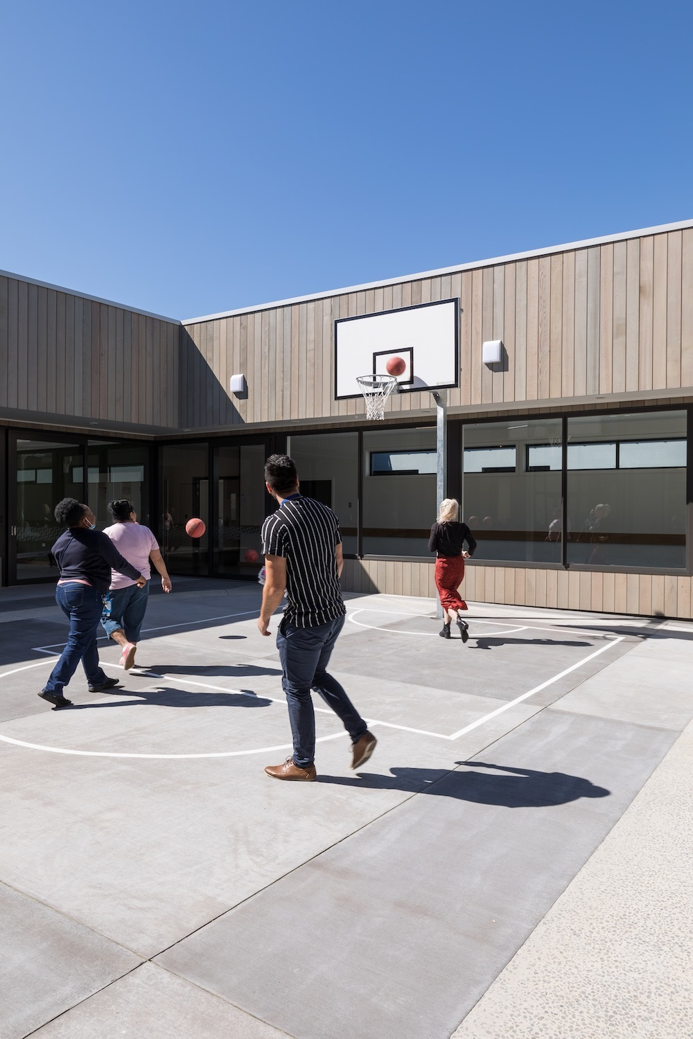 Klein Tiaho Mai Basketball Court